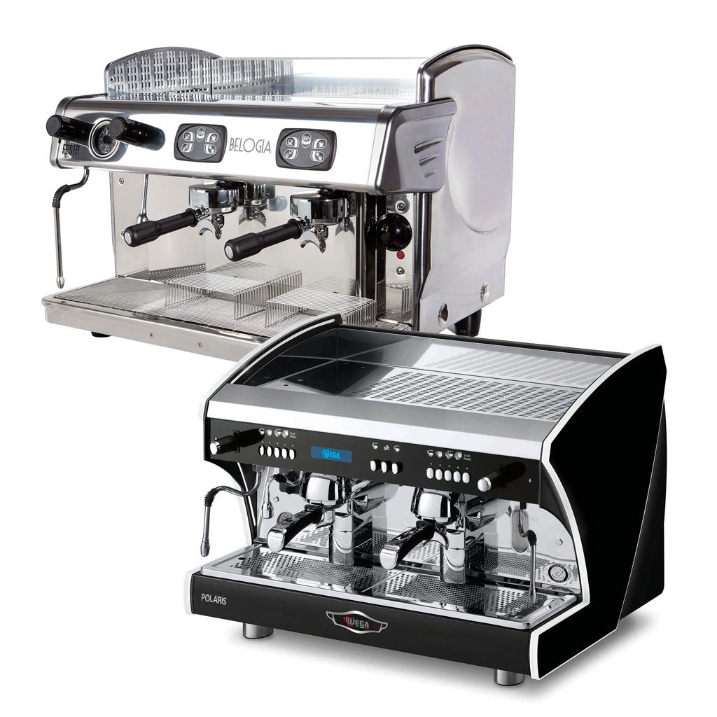 Еспресо кафе машини с термосифонна система