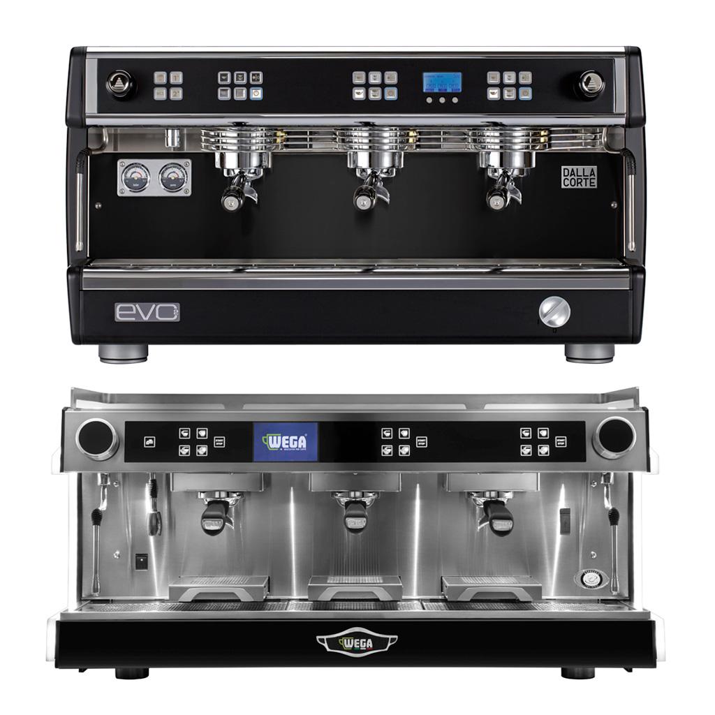 Еспресо кафе машини с мултибойлерна технология