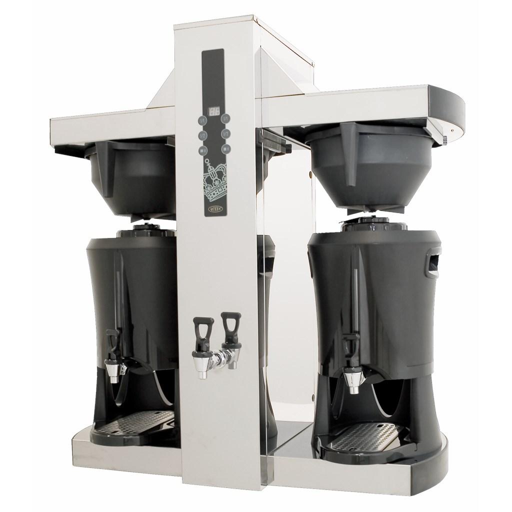 Машини за филтърно кафе с термоси за голям капацитет