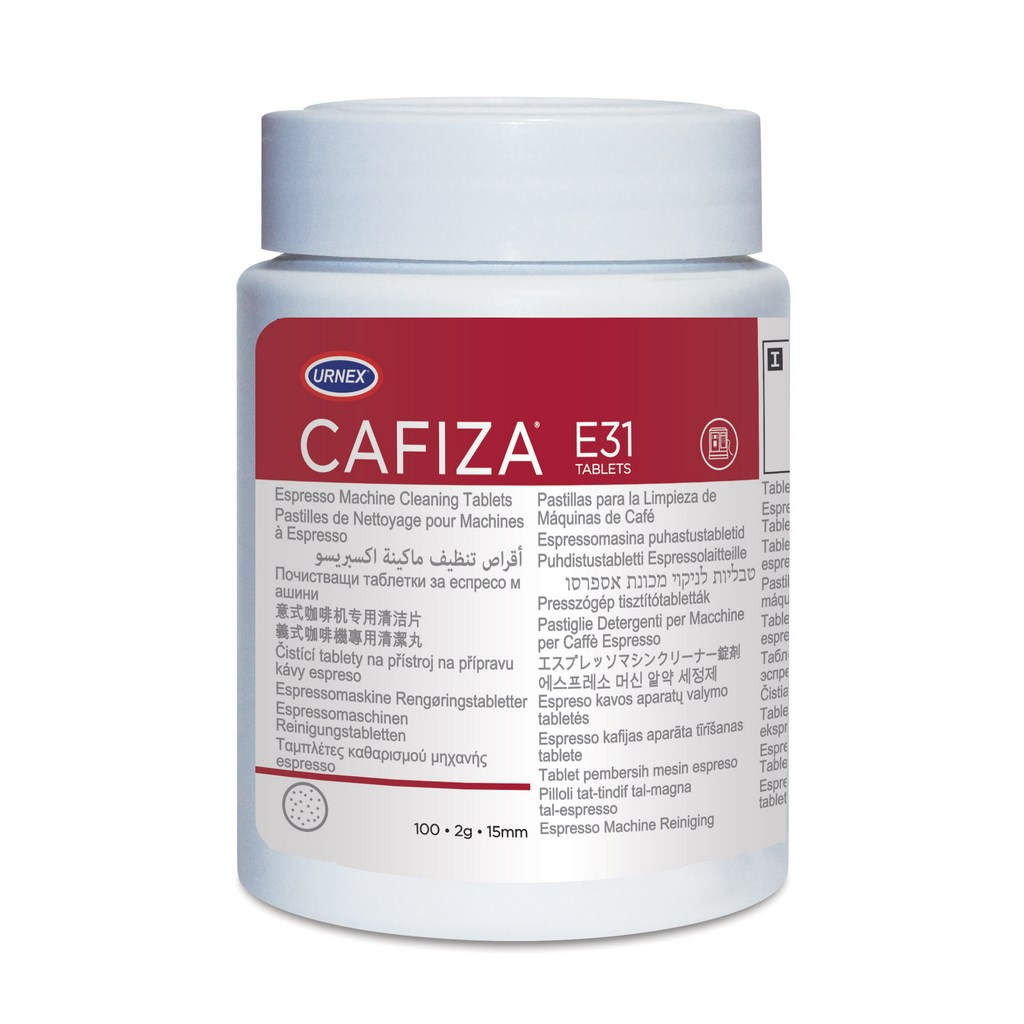 Urnex Cafiza Таблетки за почистване на кафе машини