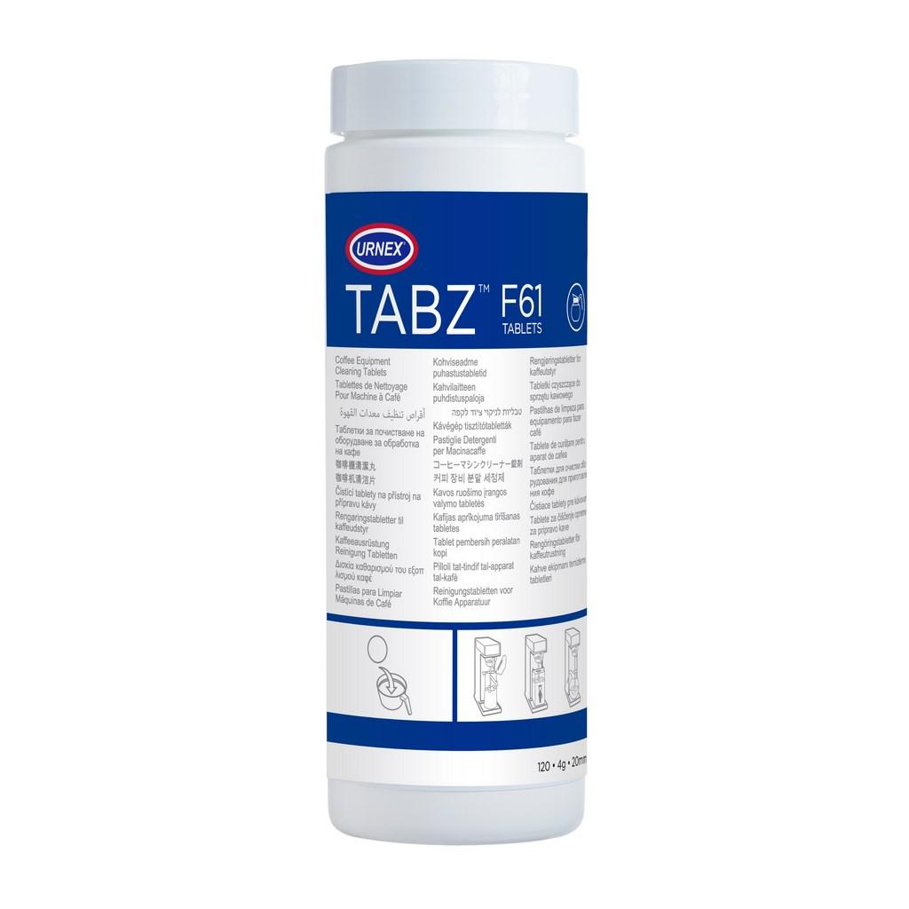 Urnex Tabz Таблетки за почистване на филтърни кафе машини